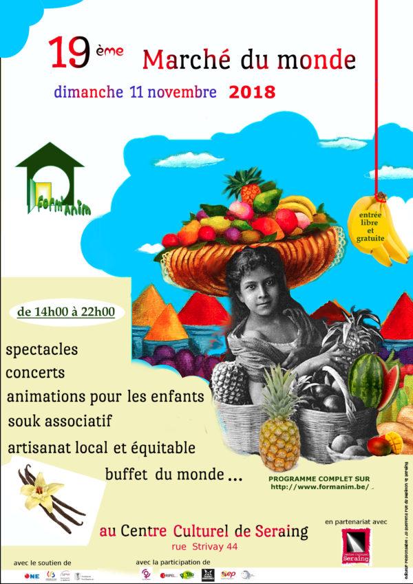 Stand du CRIPEL au 19ème Marché du Monde - 11 novembre 2018