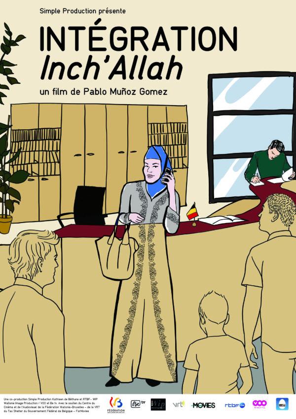 """Projection-débat sur le film """"Intégration Inch'allah"""" - 28 mars à 20h"""