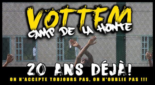Manif Centre fermé Vottem : 20 ans! on n'accepte toujours pas - 10 mars