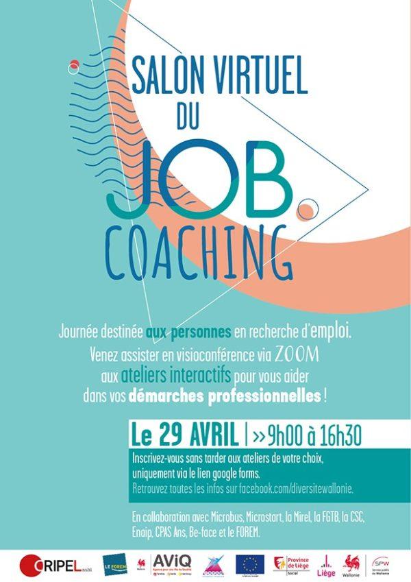Salon du jobcoaching virtuel - Le 29 avril (9h-16h30)